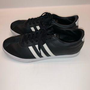 Black White Adidas Sneakers Tennis Shoes
